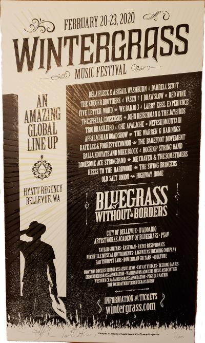 2020 Wintergrass Poster